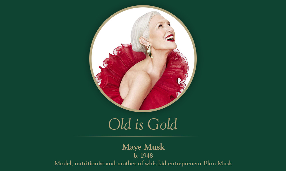 Old is gold: Maye Musk, 70 is the new 40 – Evergreen